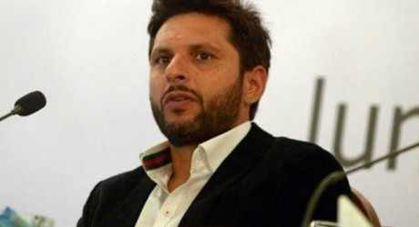 Shahid Afridi Says Politics is Name to Dishonor Others