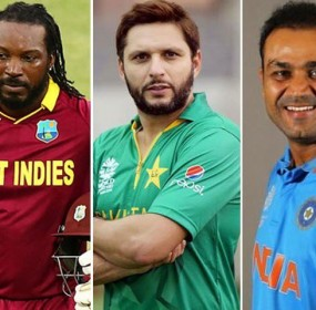 Afridi, Gayle and Sehwag Together in Same Tournament