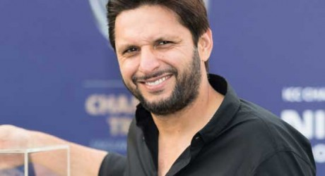 Shahid Afridi in Afghan Cricket League