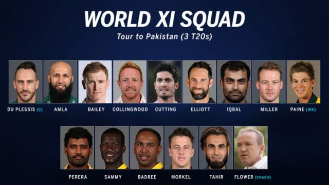 Pakistan vs World XI 1st T20 2017