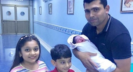Kamran Akmal Blessed with a Baby Girl