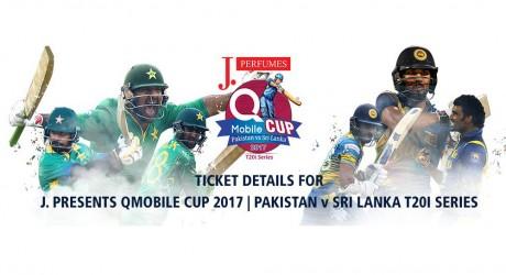 Pak Vs SL T20i Tickets