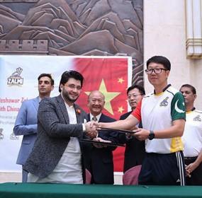 Peshawar Zalmi Chinese Players