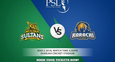 Multan Sultan vs Karachi Kings