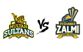 Peshawar Zalmi vs Multan Sultans