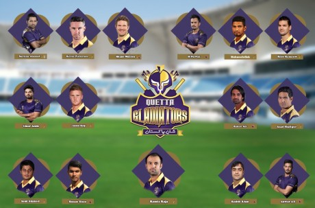 quetta gladiators team 2018