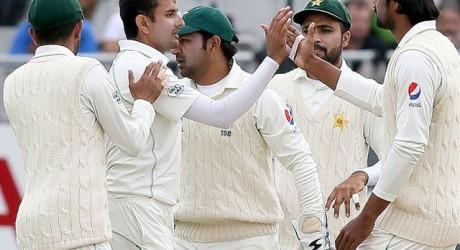 Pakistan Dublin Test Match Team