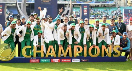 Pakistan Team Champion