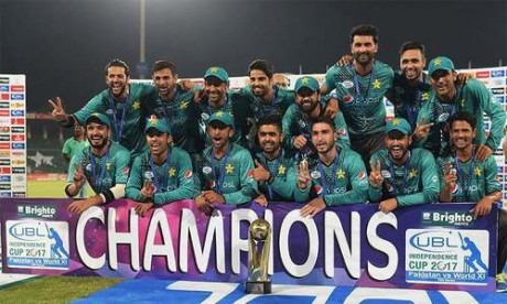 team pakistan champion