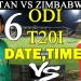 Pakistan vs Zimbabwe 2nd ODI 2018