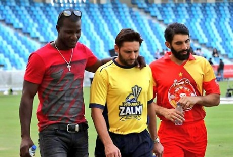 Afridi & Misbah Play Afghan Premier League 3