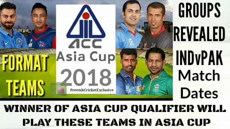 ICC Announces Asia Cup Schedule  3