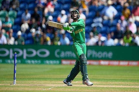 akhar Determines to Repeat Champions Trophy Performance Against India