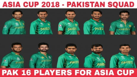Asia cup squad