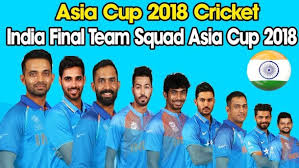Indian team Squad
