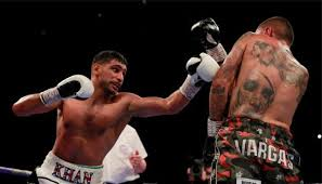amir khan boxer win