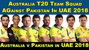 Australian Squad