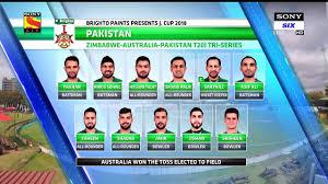 Pakistan team Squad