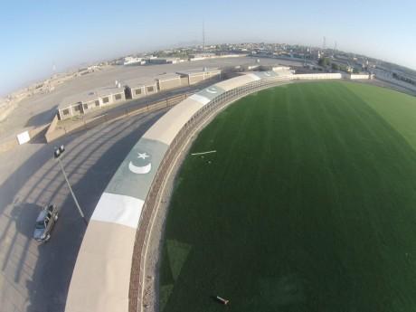 Astro Turf Cricket Stadium in Baluchistan