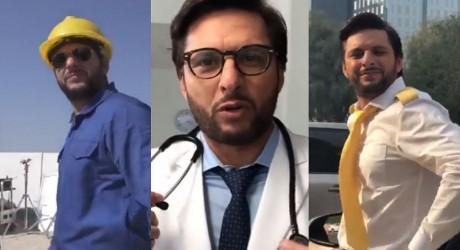 Shahid Afridi New Look