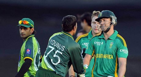 Team pakistan & South Africa
