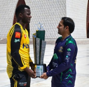 Peshawar Zalmi and Quetta Gladiators