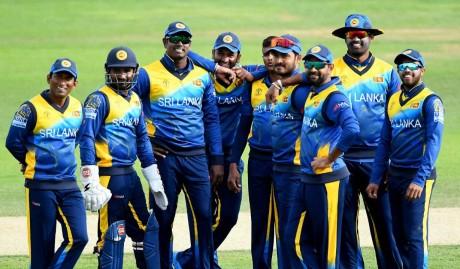 Srilankan Squad against Pakistan