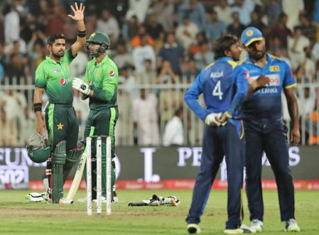 Srilanka VS Pakistan Match In Karachi