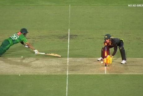 Team Pak and Australia
