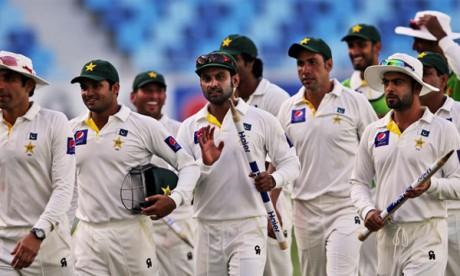 Test Match Between Pak and Australia