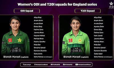 PCB Women Cricket Team ODI and T20 Squad