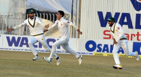 Naseem Shah Becomes the Youngest Bowler to take Test Hat Trick