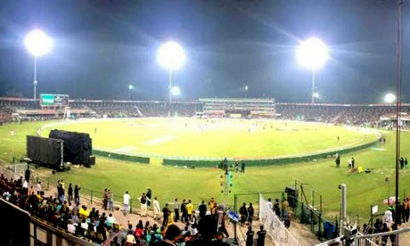 PSL 5 Multan Sultan vs Quetta Gladiators at Gaddafi Stadium